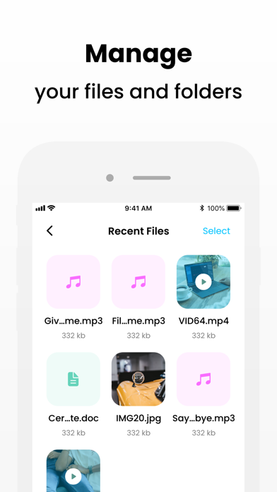 Unfile Protect Screenshot