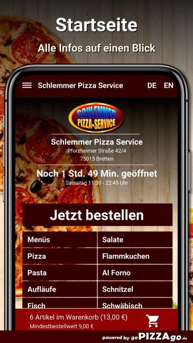 Schlemmer Pizza Bretten screenshot 2