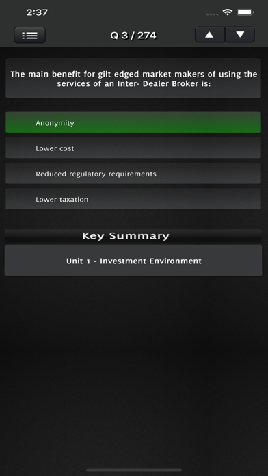IMC Investment Management Exam screenshot 3