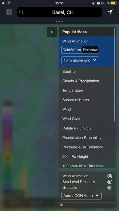 meteoblue weather & mapsのおすすめ画像4
