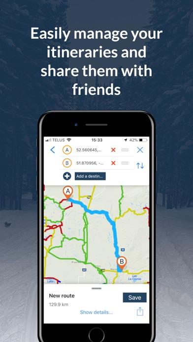 Sask Snowmobile Trails screenshot 4