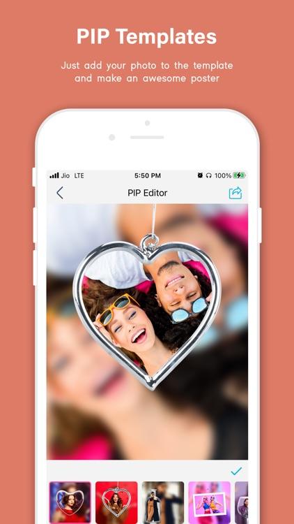 Pip Photo Editor, Stickers screenshot-6