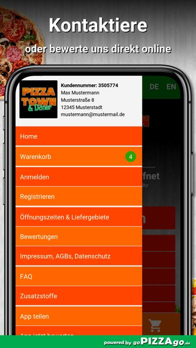Pizza Town & Döner Meiningen screenshot 3