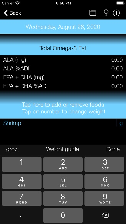 Omega-3 Fat Counter & Tracker screenshot-3