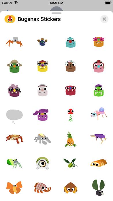 Bugsnax Stickers screenshot 4