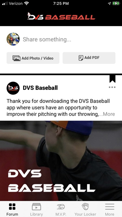 DVS Baseball MVP Program