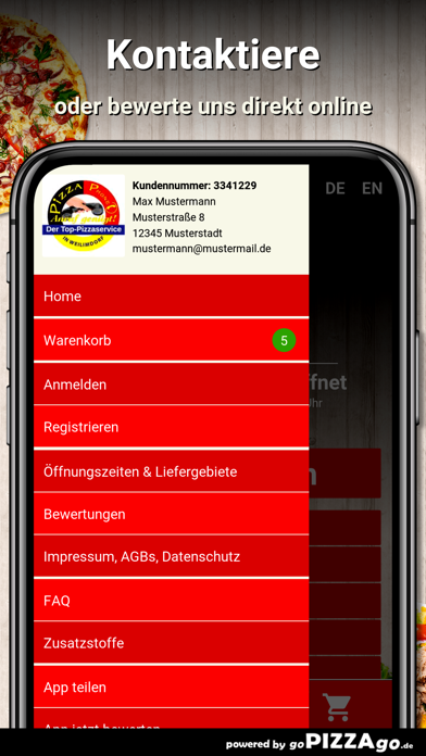 Pizza Phone Weilimdorf screenshot 3
