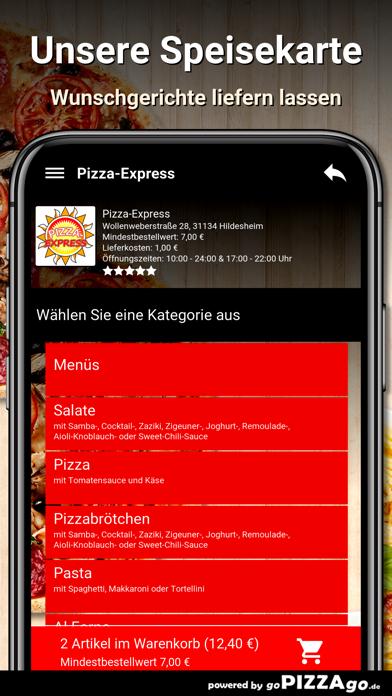 Pizza-Express Hildesheim screenshot 4
