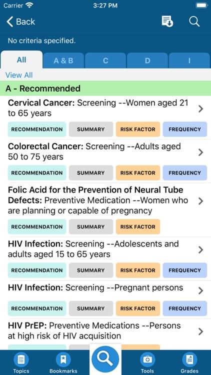 USPSTF Prevention TaskForce