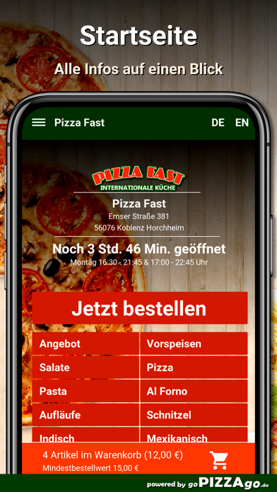 Pizza Fast Koblenz Horchheim screenshot 3