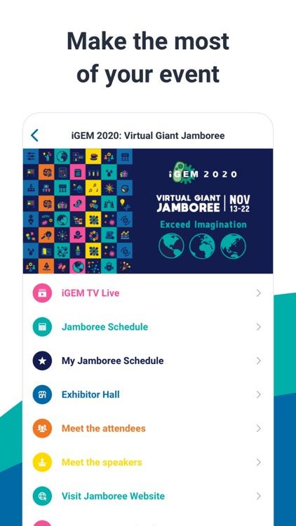 iGEM: Virtual Giant Jamboree