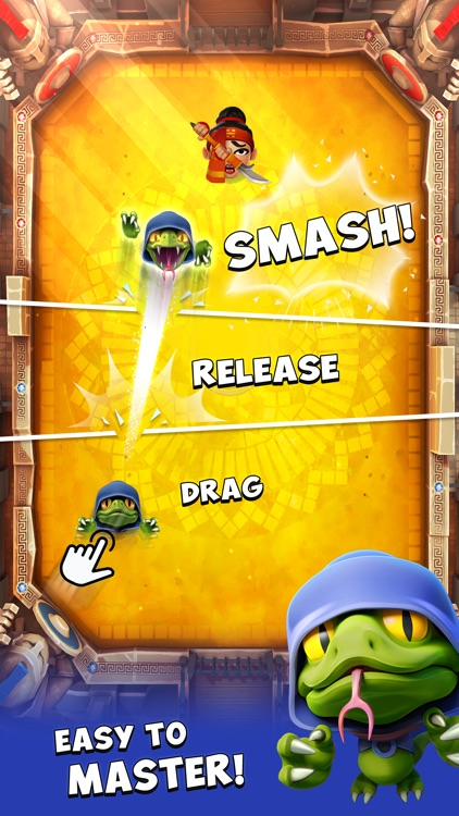 Smashing Four: PVP Smash Hit! screenshot-0