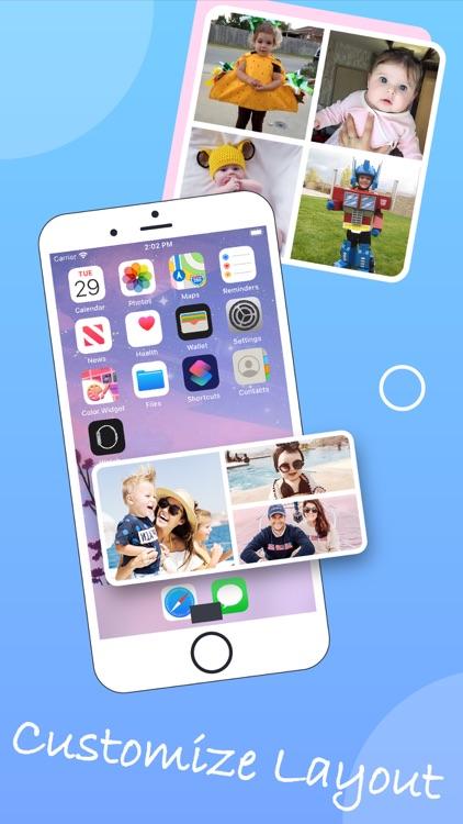 Photo Widgets. Phone app