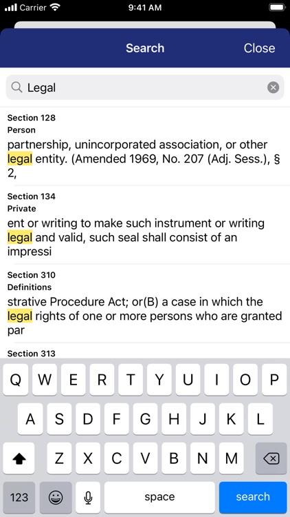 Vermont Statutes by PocketLaw screenshot-3