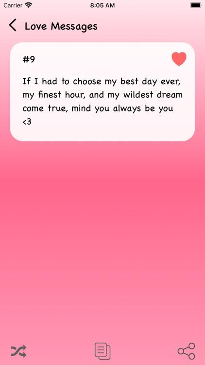 Best Love Messages 2021 screenshot-4