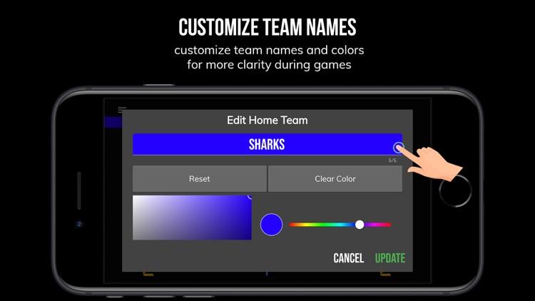 BT Scoreboard - Basketball screenshot-6