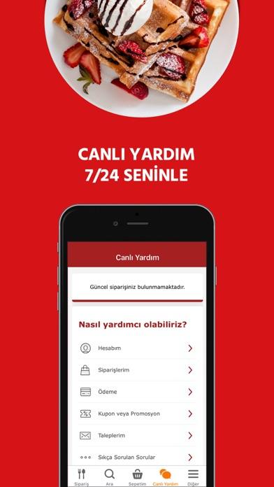 Yemeksepeti: Yemek & Market iphone ekran görüntüleri