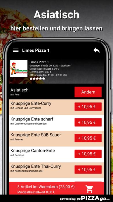 Limes Pizza 1 Stockdorf screenshot 6