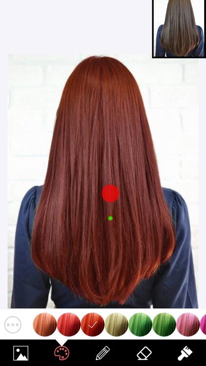 Hair Color Changer Editor screenshot-4