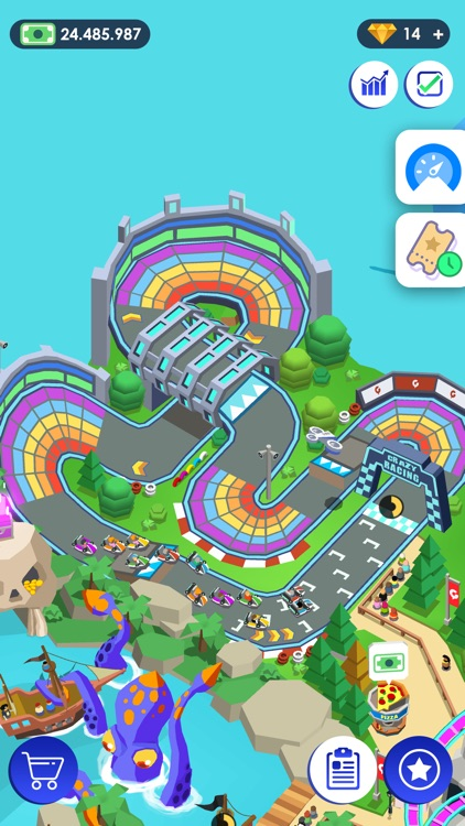 Idle Theme Park - Tycoon Game screenshot-4