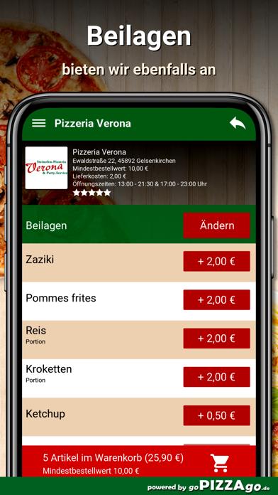 Pizzeria Verona Gelsenkirchen screenshot 1