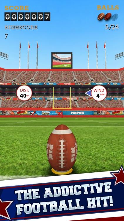Flick Kick Field Goal Kickoff