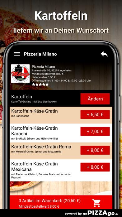 Pizzeria Milano Ingelheim screenshot 6