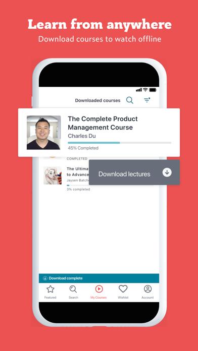 Udemy Online Video Courses Screenshot