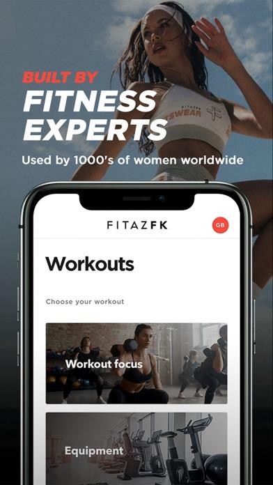 FitazFK Fitness & Nutritionのおすすめ画像1