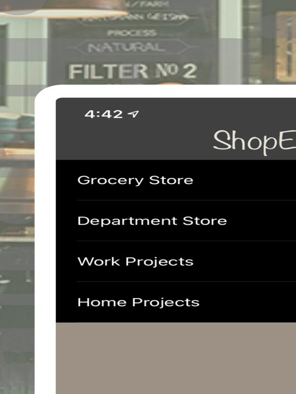 ShopEeZe: Shopping List Calc screenshot 9