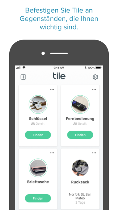 Tile - Find lost keys & phoneScreenshot von 1