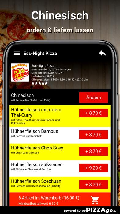 Ess-Night Pizza Esslingen screenshot 6