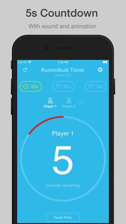 Rummikub Timer screenshot-3