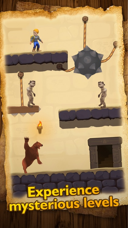 Temple Escape - Rope Puzzle screenshot-4