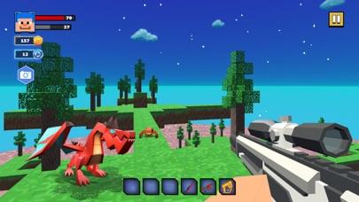Fire Craft: 3D Pixel World screenshot 4