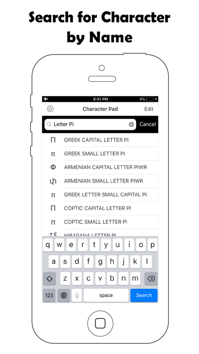 Screenshot #3 pour Symbol Keyboard-Character Pad