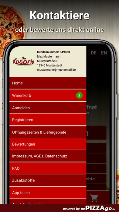Da Rosario Mannheim screenshot 3