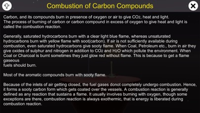 Combustion of Carbon Compounds screenshot 1