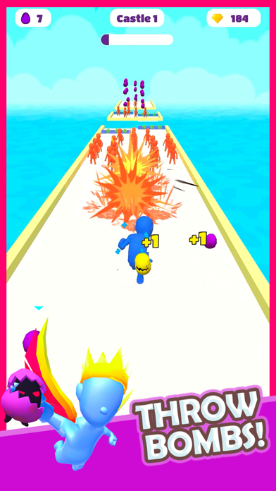 Boom Runner - Tower Defense 3D screenshot 1