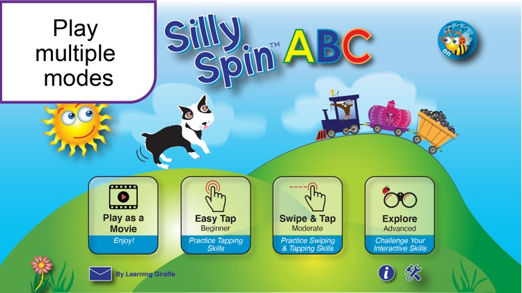 Silly Spin ABC LITE