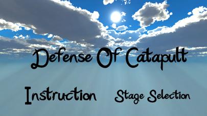 Defence Of Catapult screenshot 1