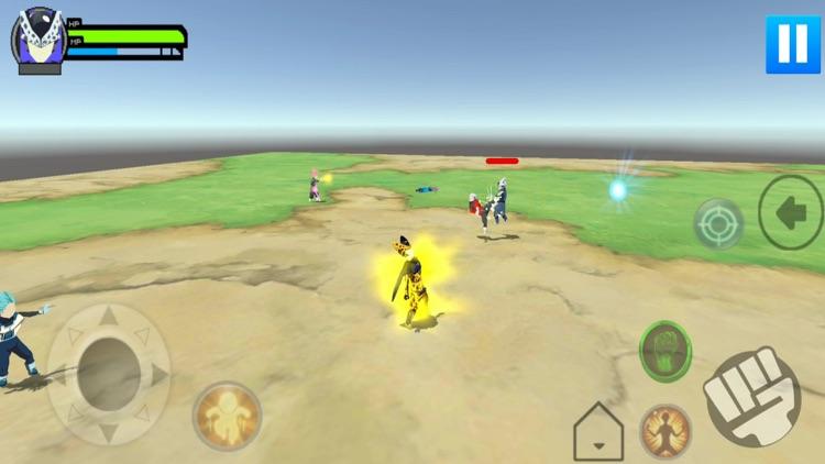 Stickman Warrior Z 3D screenshot-3