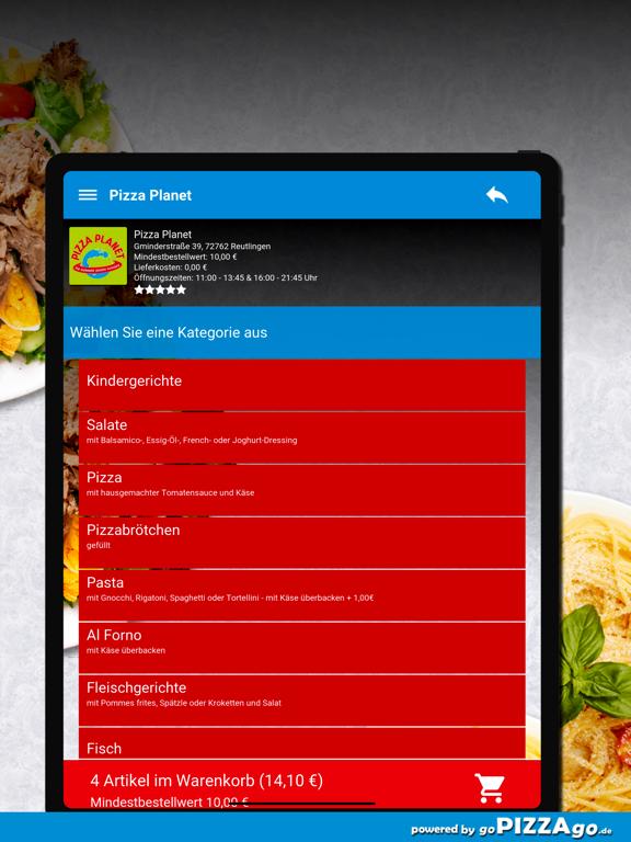 Pizza Planet Lieferservice screenshot 8