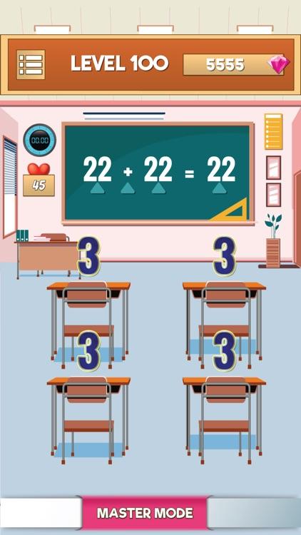 Math Quiz Games-Brain Test screenshot-3