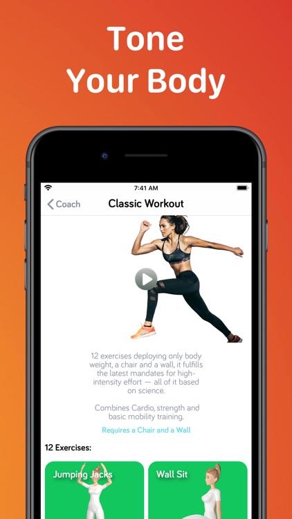 7 Minute High Fitness Work Out screenshot-3
