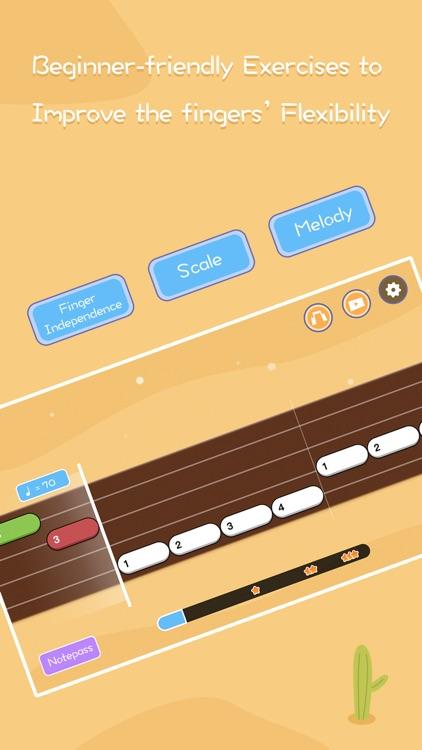 Guitar ukulele tuner & tabs screenshot-4