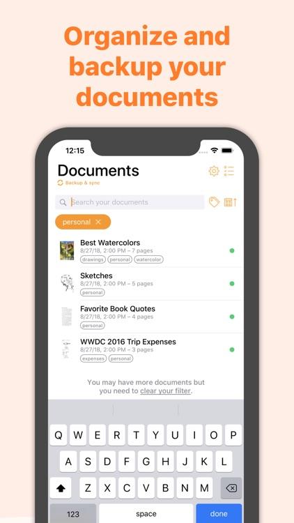 Genius Scan Enterprise - PDF screenshot-4
