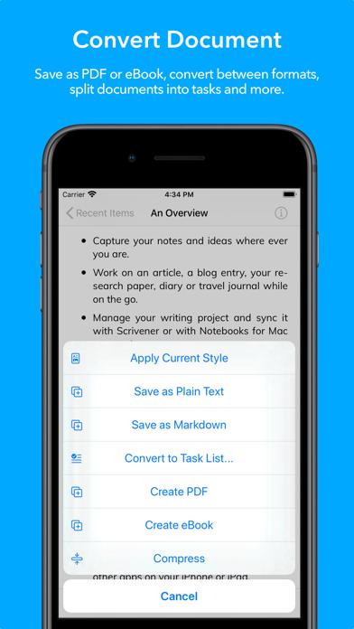 Скриншот №7 к Notebooks 10 Write  Organize