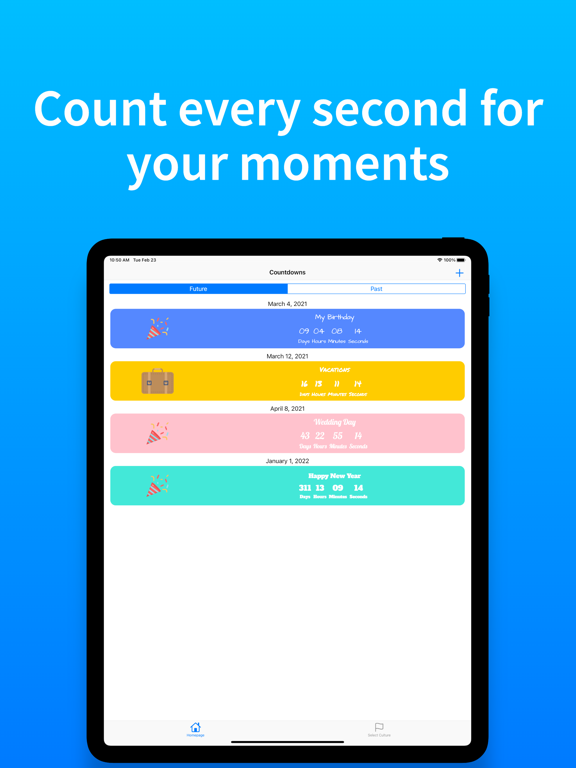 AppyRex Event Countdowns Pro screenshot 8
