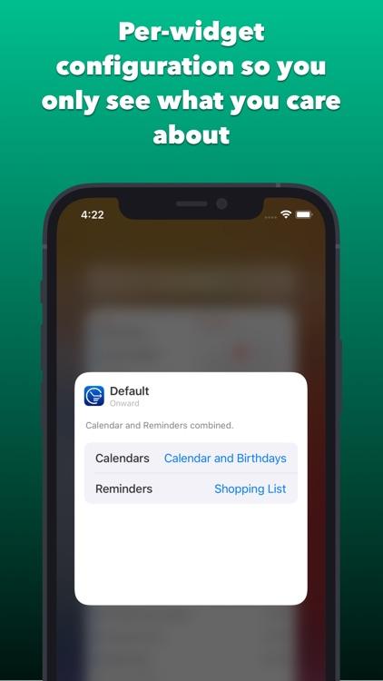 Onward: Calendar and Reminders screenshot-3